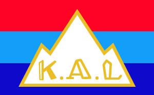 京都府山岳連盟旗
